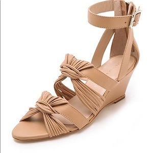 Loeffler Randall 'Alana' Twist Wedge Sandals